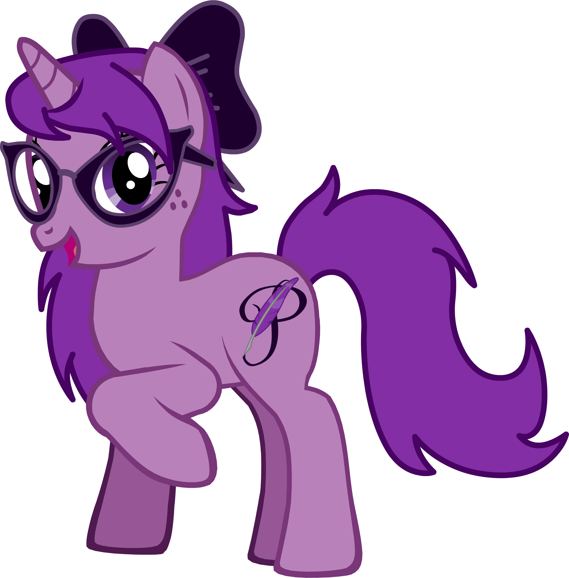 Cartoon Characters With Purple Hair : Purple prose characters mlp forums