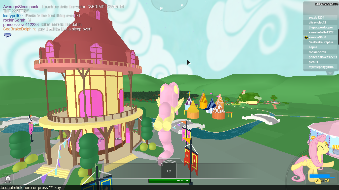 roblox My Little Pony 3D: Roleplay is Magic vip ponies part 1 ...