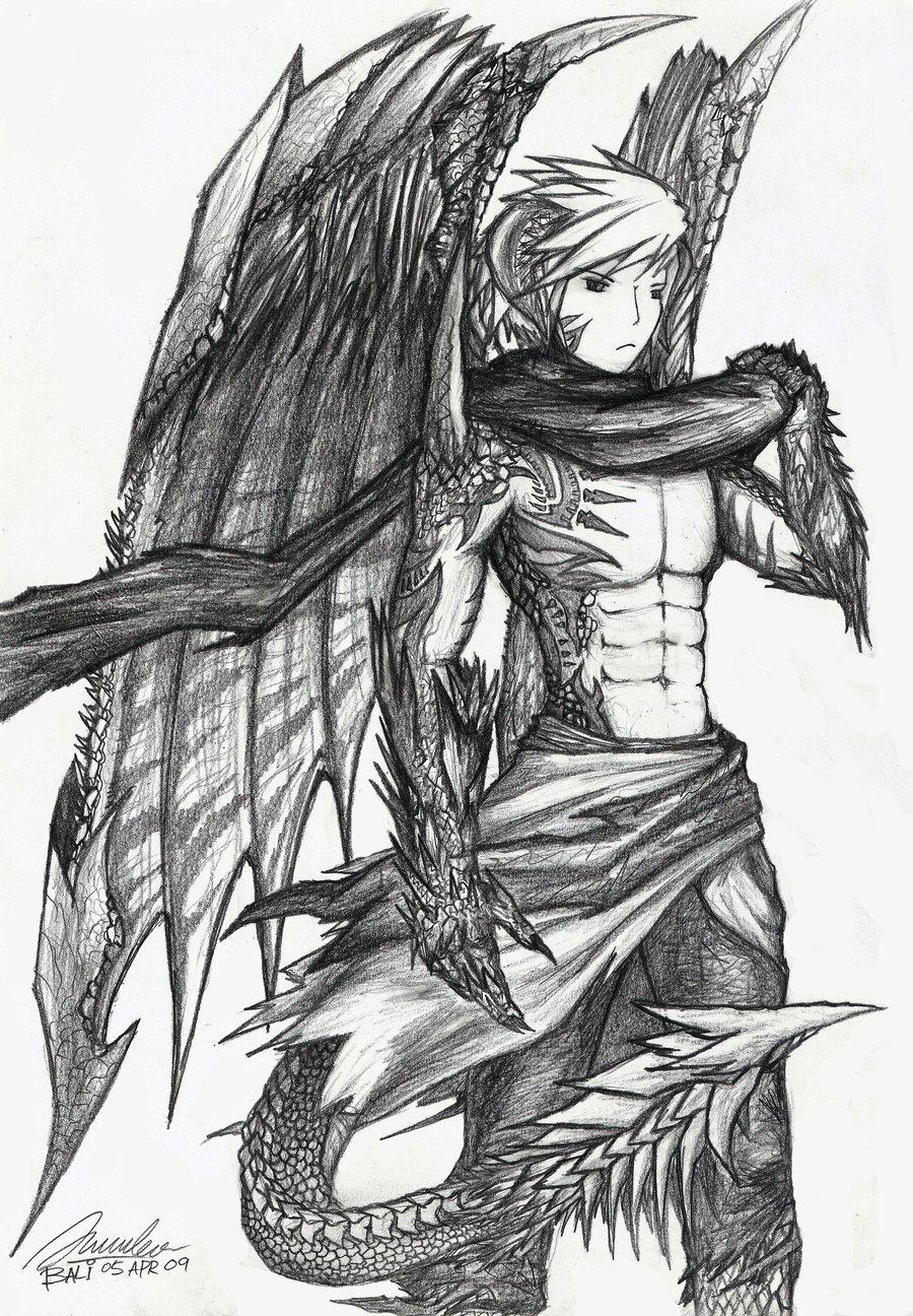 Dragon hybrid anime sexy toons