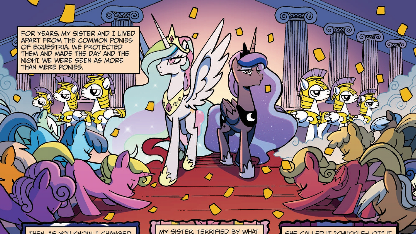 "Why are Celestia and Luna considered ""Gods""? - Show"