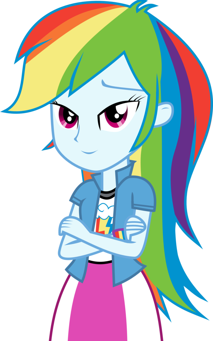 Do you like Rainbow Dash's look as a human? - Page 3 ...