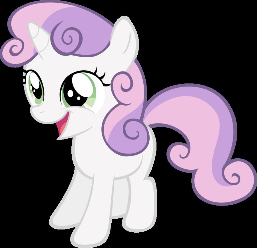 My little pony sweetie belle baby - photo#16