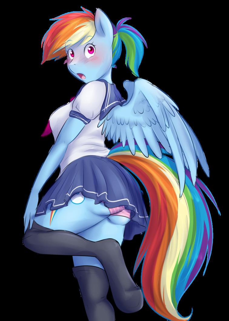 Mlp anthro rainbow dash - photo#41