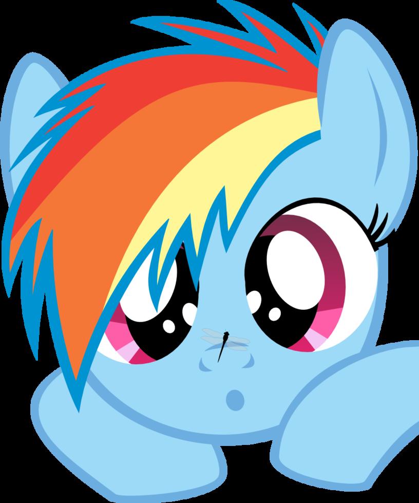dash face Rainbow cute