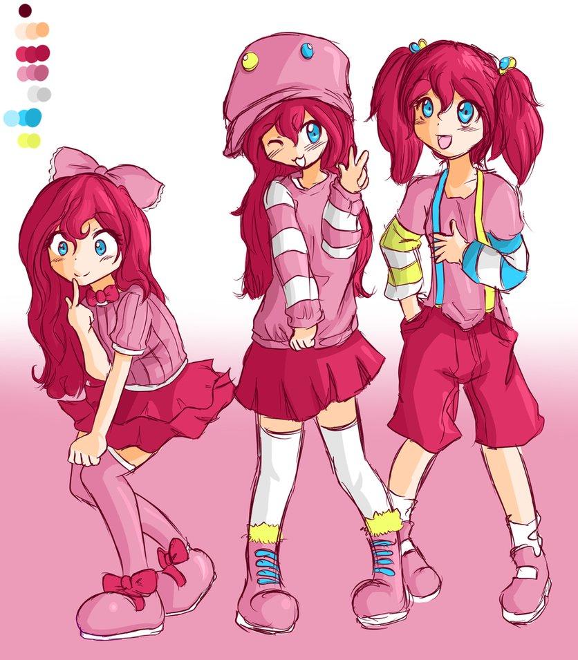 Pinkie pie human form anime