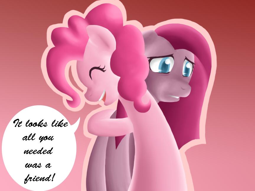 Pinkie Pie Fan ... Neon Lights Mlp In Show