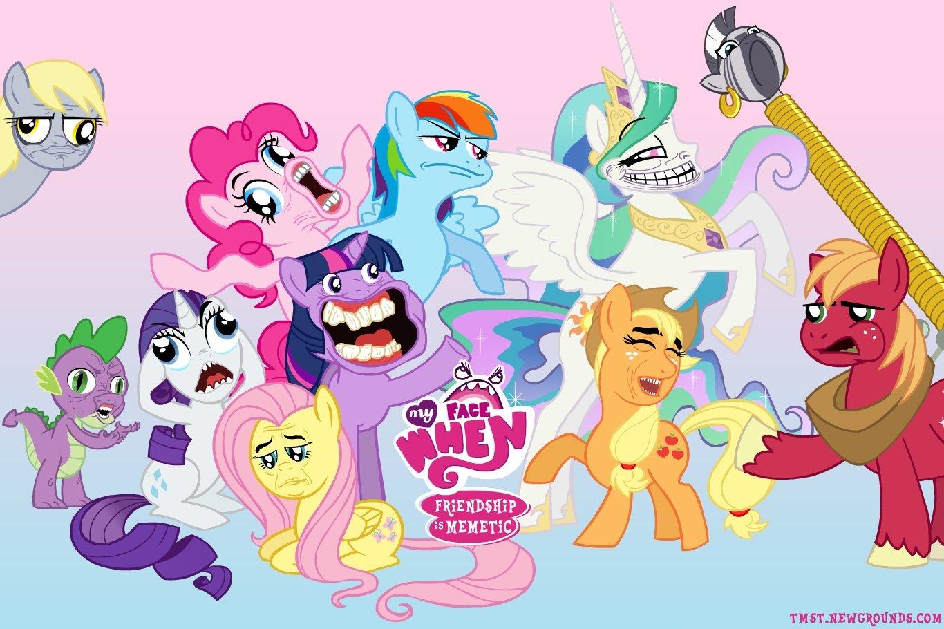 Weirdest Pony Picture Meme Youve Seen