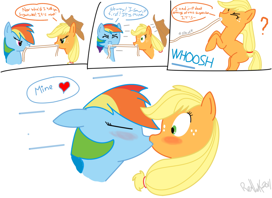 Shipping Aj and RD - MLP Forums  Applejack