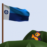 Blue Vexillographer