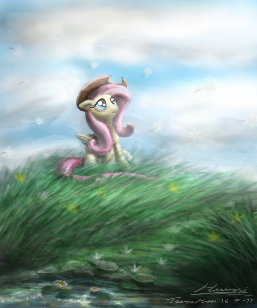 mlp___fluttershy_tribute_by_huussii-d460