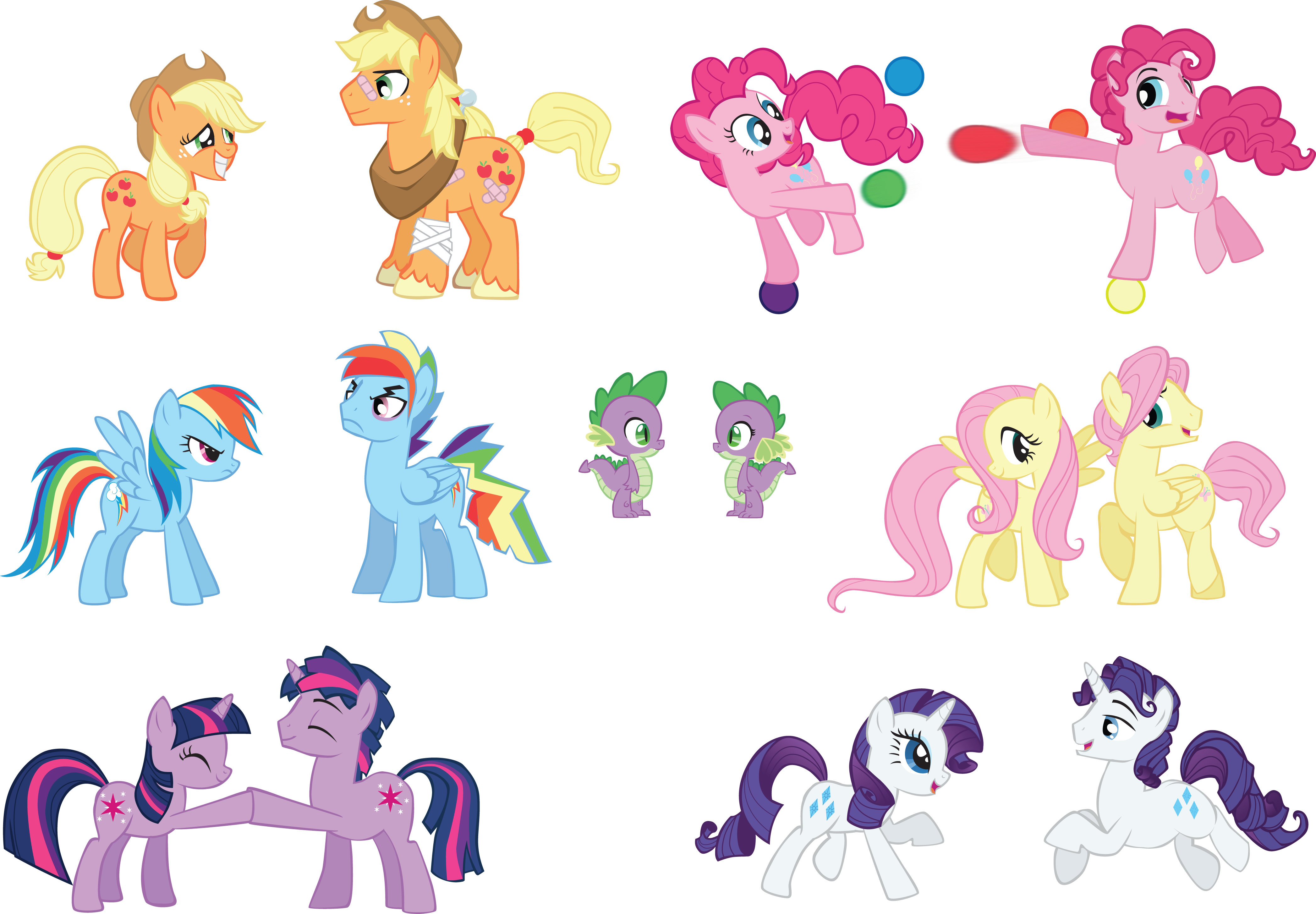 Mane 6 Male Names - AK Yearling's Writing Resources - MLP ...