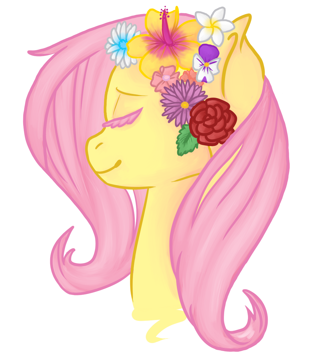 Flower Crown Visual Fan Art Mlp Forums