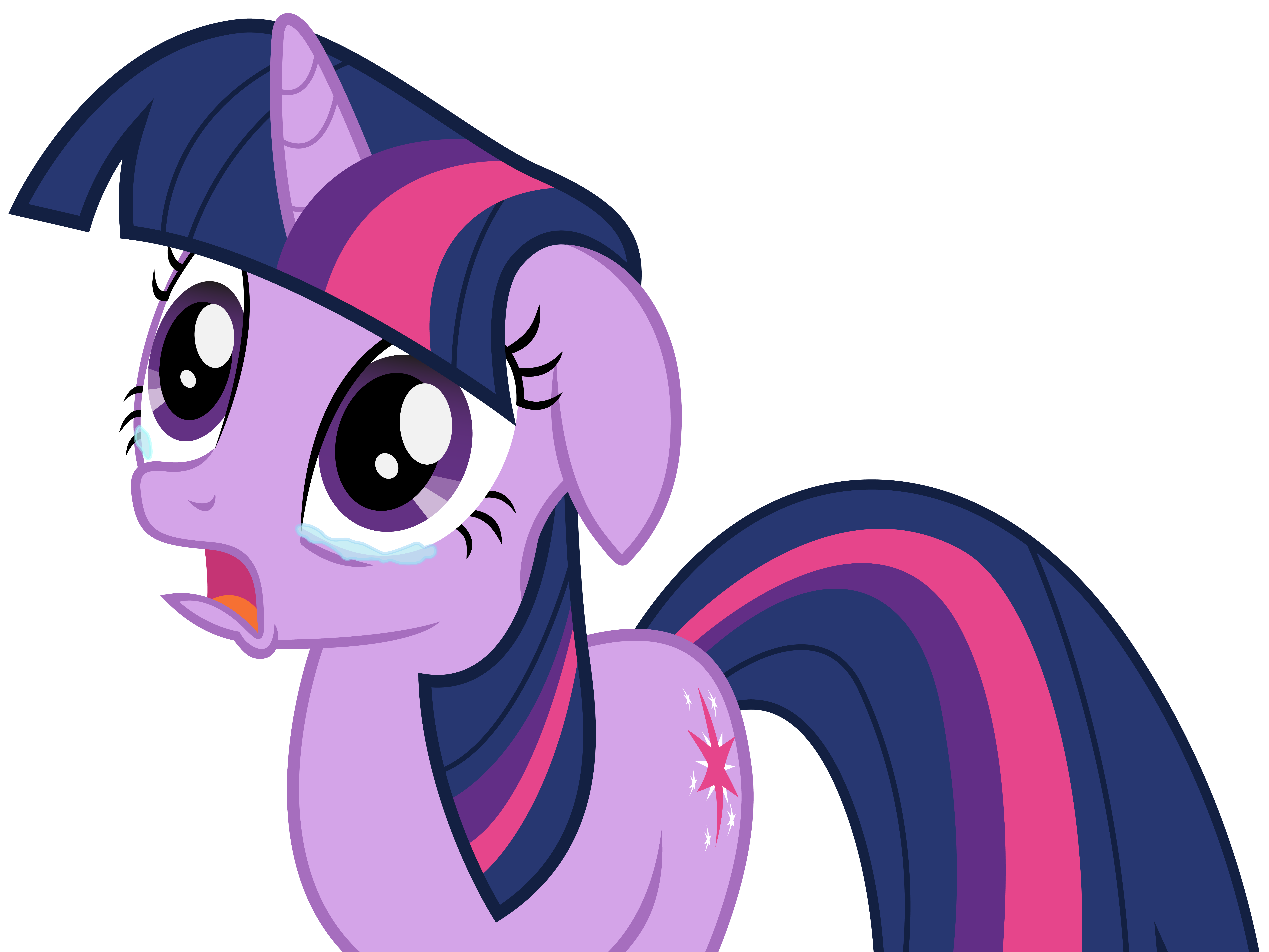 Has Anybody Ever Cried While Watching Or Doing Pony