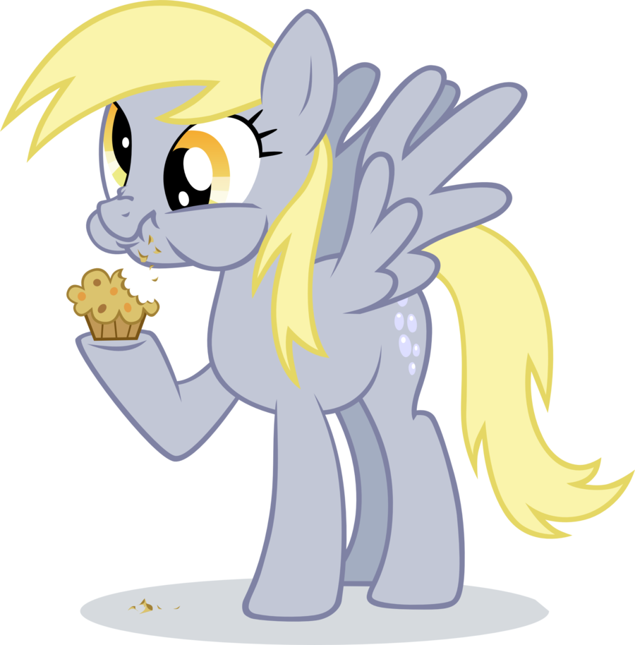 Derpy_hooves_eating_muffin_by_ininko-d53
