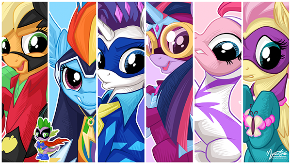 the_power_ponies_by_mysticalpha_600.png