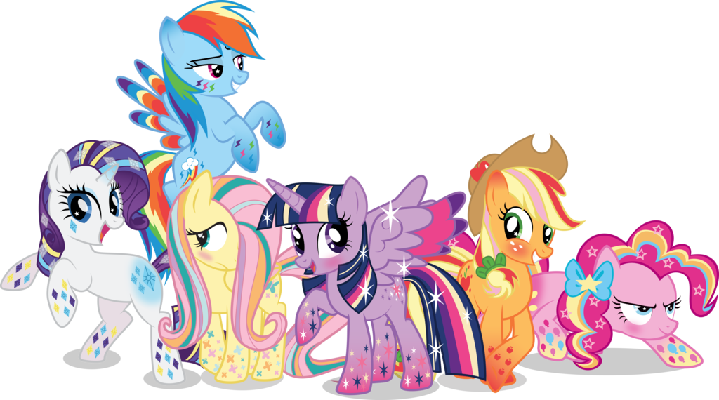 Which of the Rainbow Power Ponies do you think look the ...