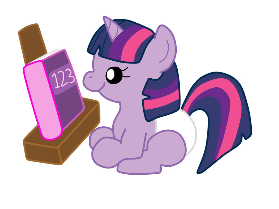 My little pony baby twilight sparkle