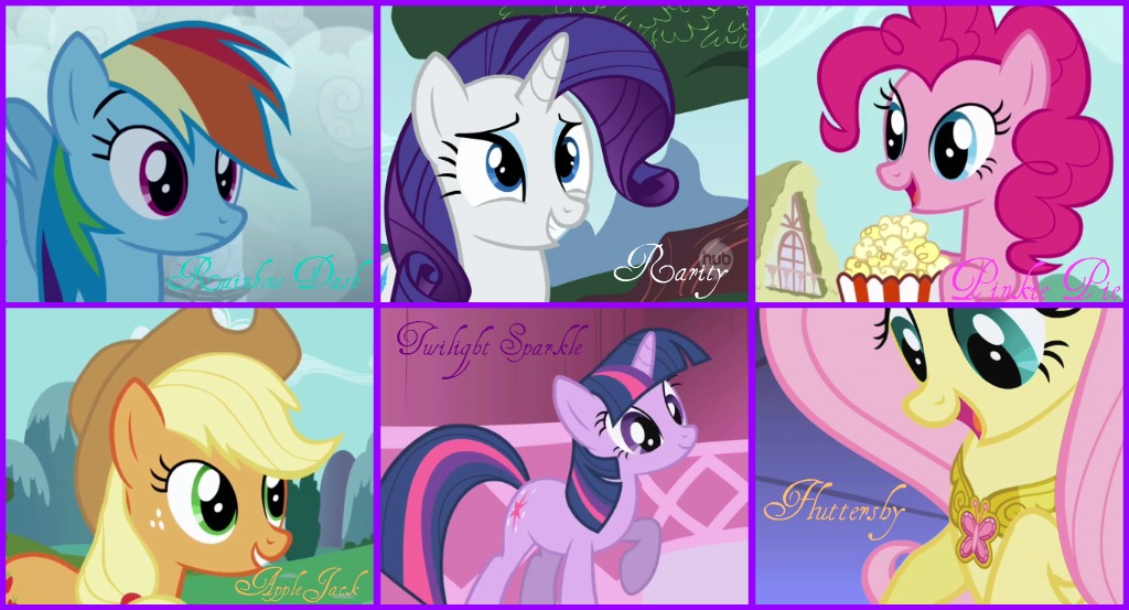The-main-6-my-little-pony-friendship-is-