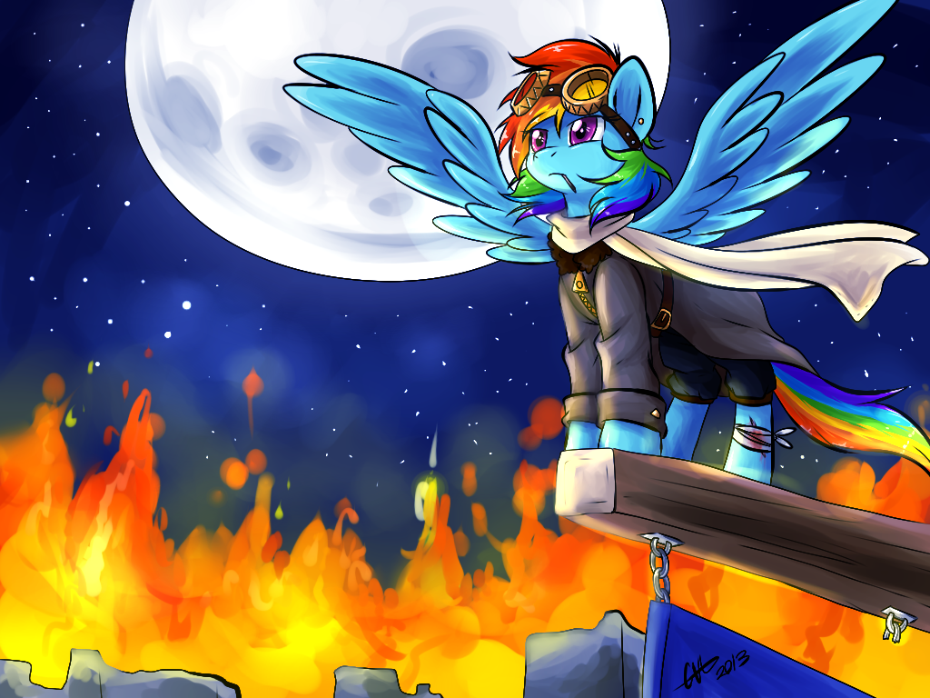 img-2646264-1-308490__safe_rainbow+dash_solo_clothes_moon_scarf_night_goggles_fire_injured_badass_epic_artist-colon-britishstarr_awesome.png