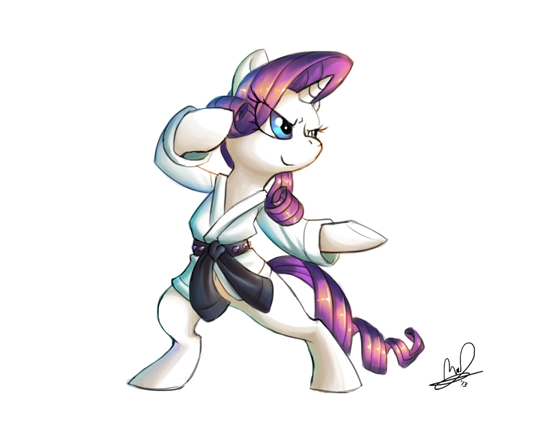 Why does Rarity know martial arts? - FiM Show Discussion - MLP Forums