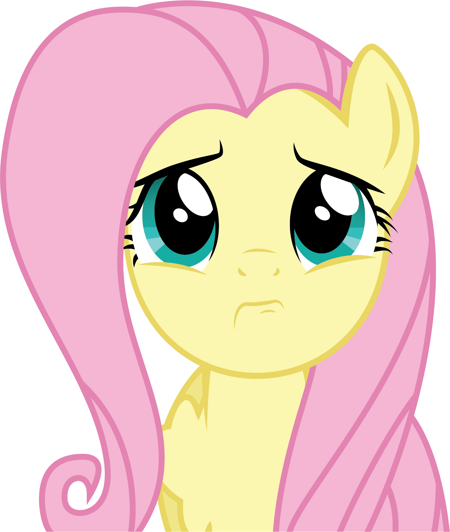 Fluttershy Scared Count to a million - P...