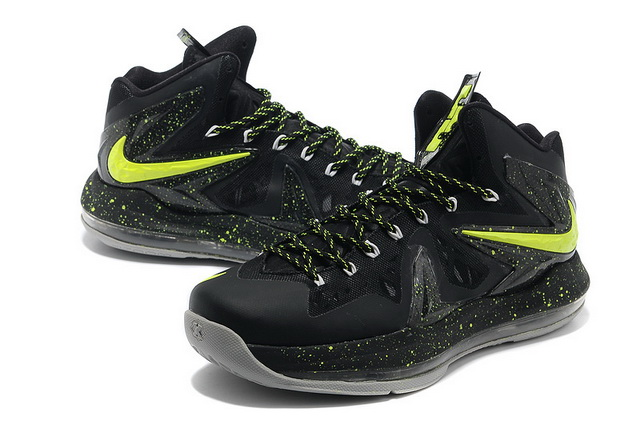 Nike-Lebron-10-PS-Elite-Green-Black-Grey