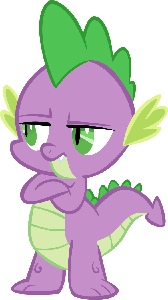 unamused_spike_by_superelectrogirl98-d5f