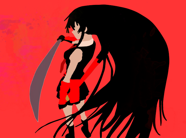 akame_ga_kiru___akame___minimalist_by_at