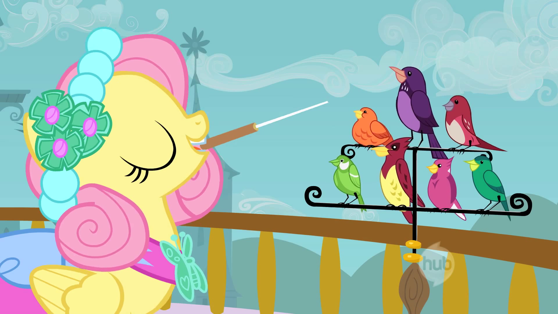 Fluttershy_and_Birds_S2E26.png