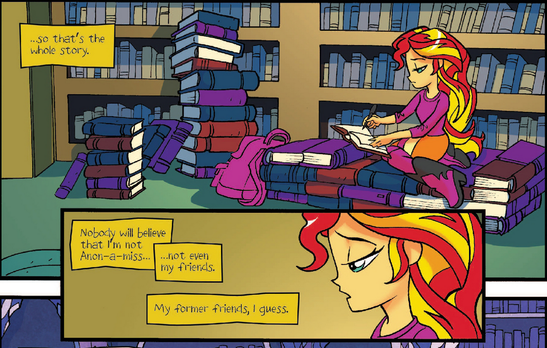 Anon Mlp Comic where do you think sunset lives anyways? - equestria girls