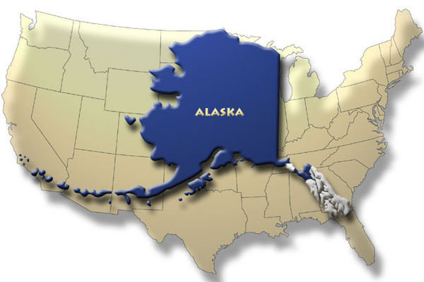 Size Of Equestria Show Discussion MLP Forums - Alaska usa overlay map