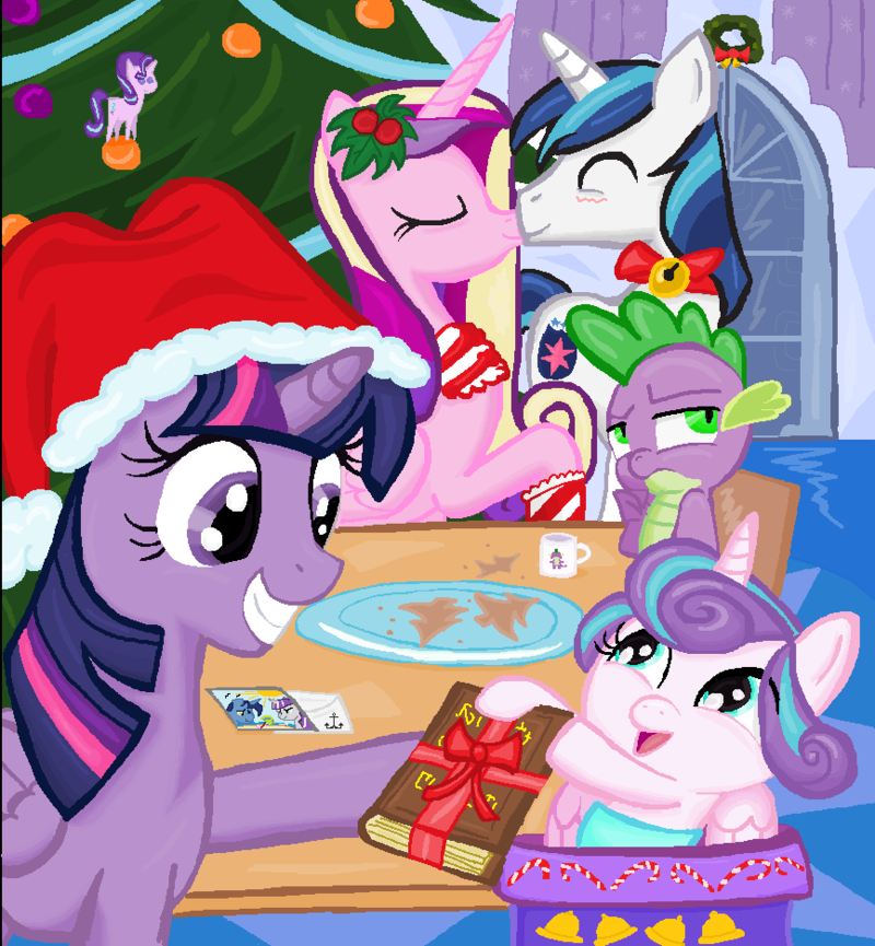 twilight_sparkel_flurry_heart_chrismas_i